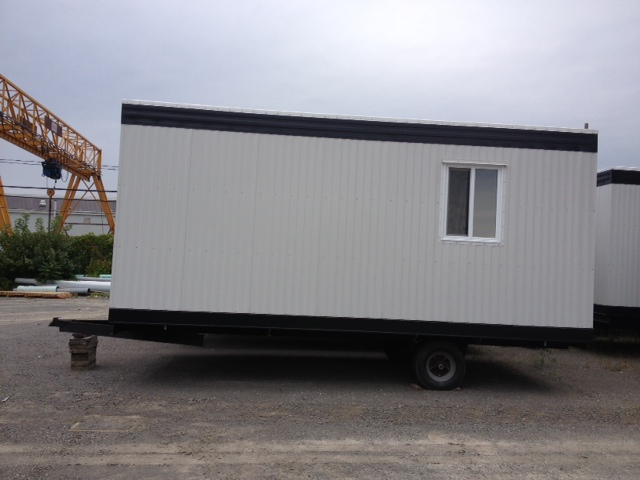 roulotte de chantier abritech machinerie qu bec. Black Bedroom Furniture Sets. Home Design Ideas